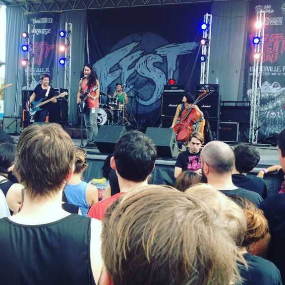 Defiance, Ohio playing at the Fest, 2015.  Photo by @waxwingsmusic (https://instagram.com/p/9lpvX3C-yj/)